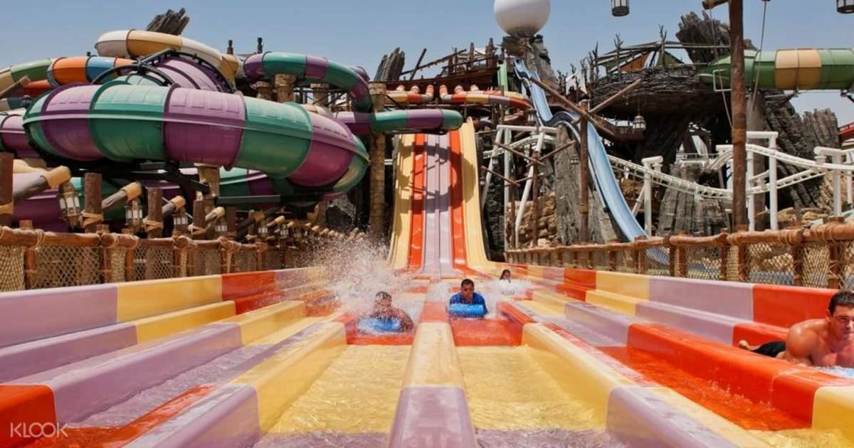 Yas Waterworld Abu Dhabi Discount Tickets - Klook