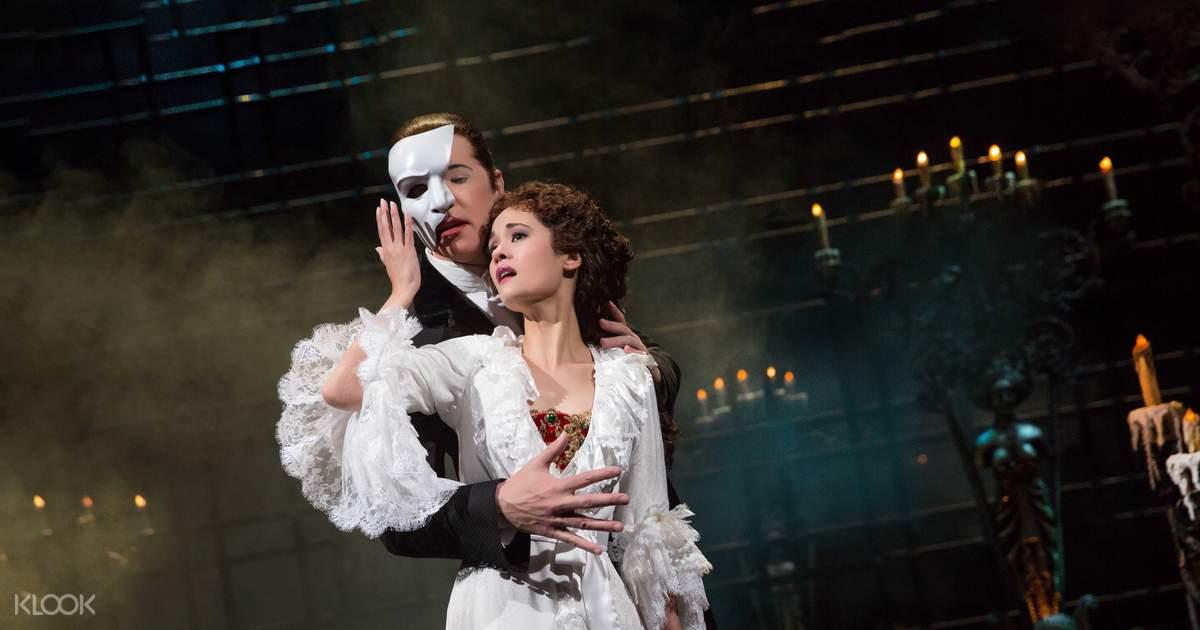 The Phantom of the Opera Broadway Show Ticket, New York