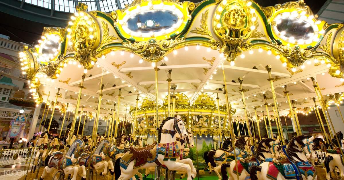 Lotte World Seoul Theme Park 1 Day Pass with Aquarium