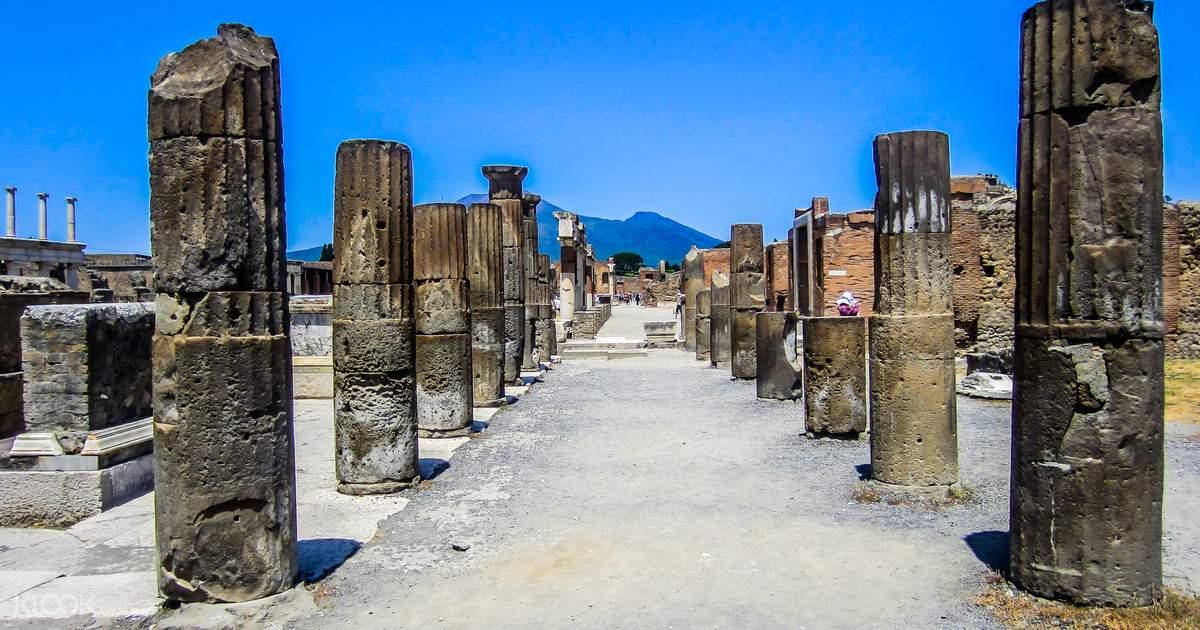 폼페이 유적지 일일 투어 - Klook