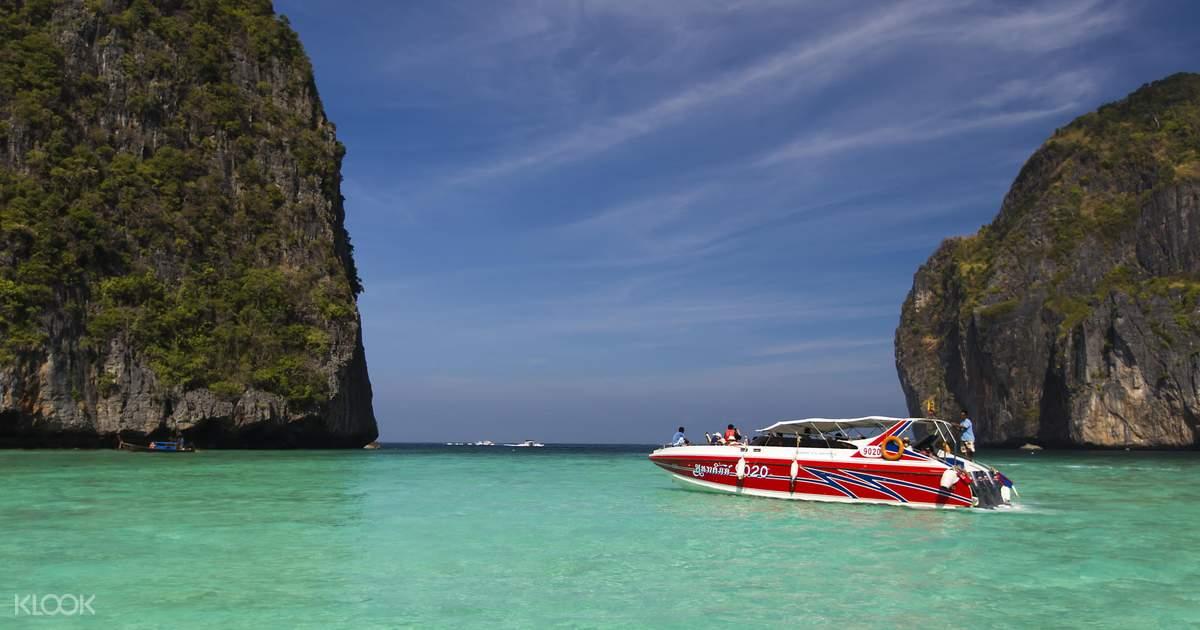 Phi Phi Speedboat Tour From Phuket