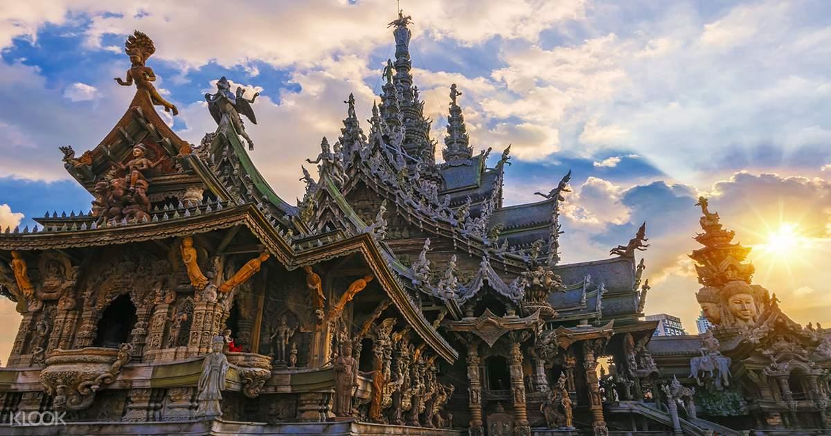 The Sanctuary of Truth in Pattaya, Bangkok - Klook