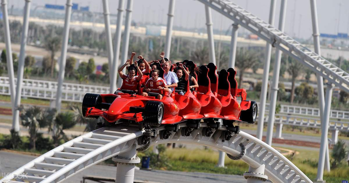 Ferrari World Ticket in Yas Island, Abu Dhabi - Klook - Klook
