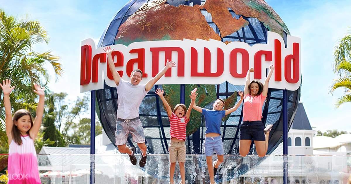 Dreamworld Entry Ticket Gold Coast - Klook