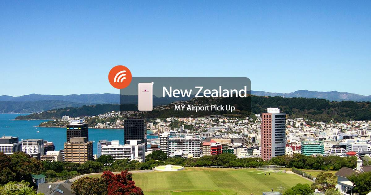 4G/3G WiFi (MY Airport Pick Up) for New Zealand - Klook