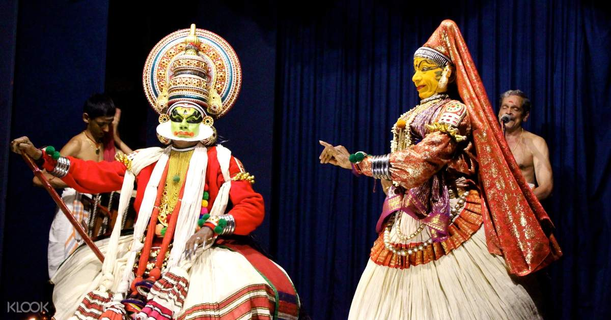 Kathakali Show Ticket in Munnar, India - Klook