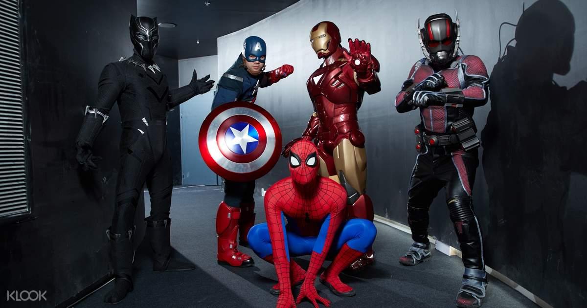 The Marvel Experience Thailand Bangkok, Thailand - Klook