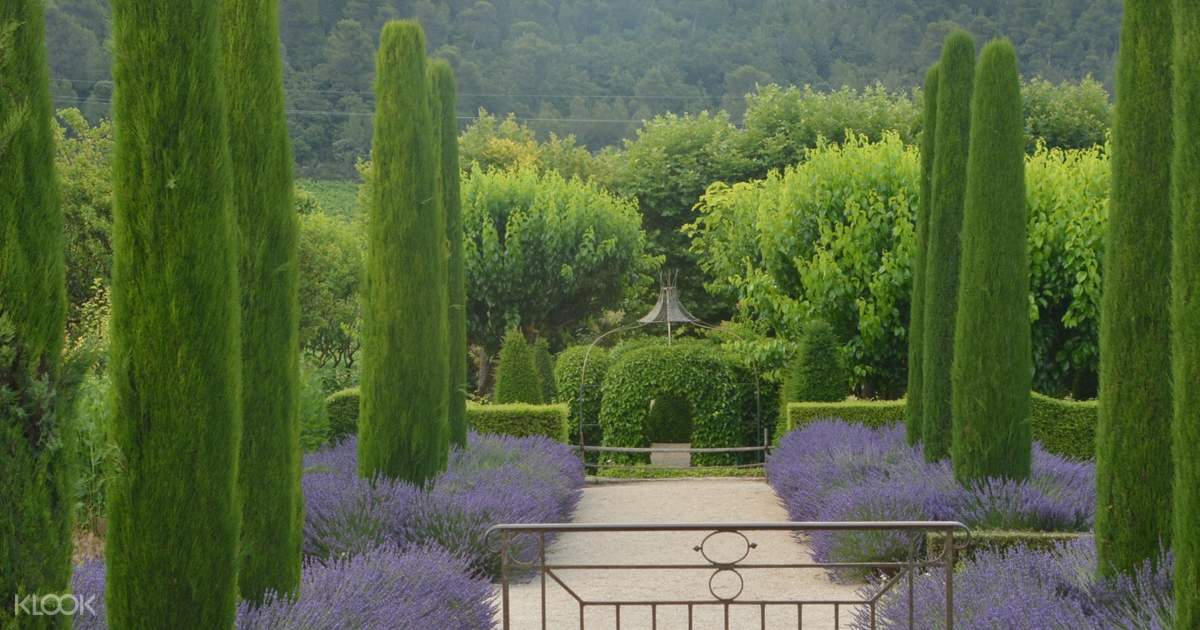 Luberon Wine And Gardens Tour From Aix En Provence France