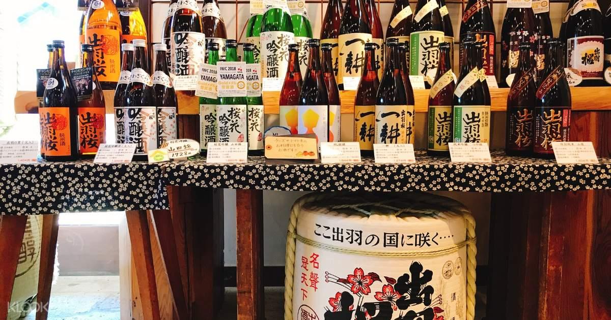 Dewazakura Sake Brewing and Tasting Experience in Tokyo