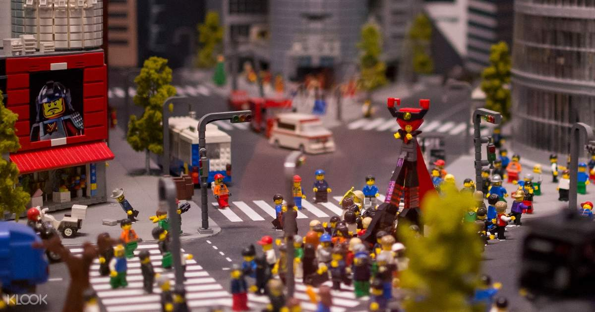 Legoland Discovery Center Admission Ticket Tokyo, Japan