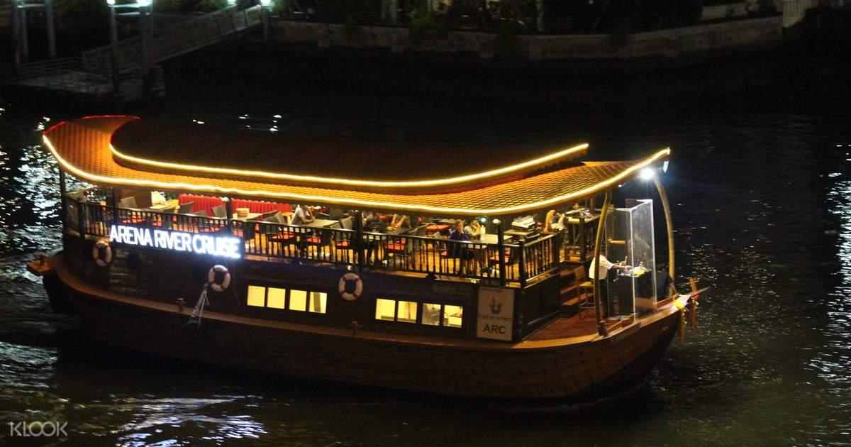 Bangkok Arena River Cruise & Indian Dinner Buffet - Klook