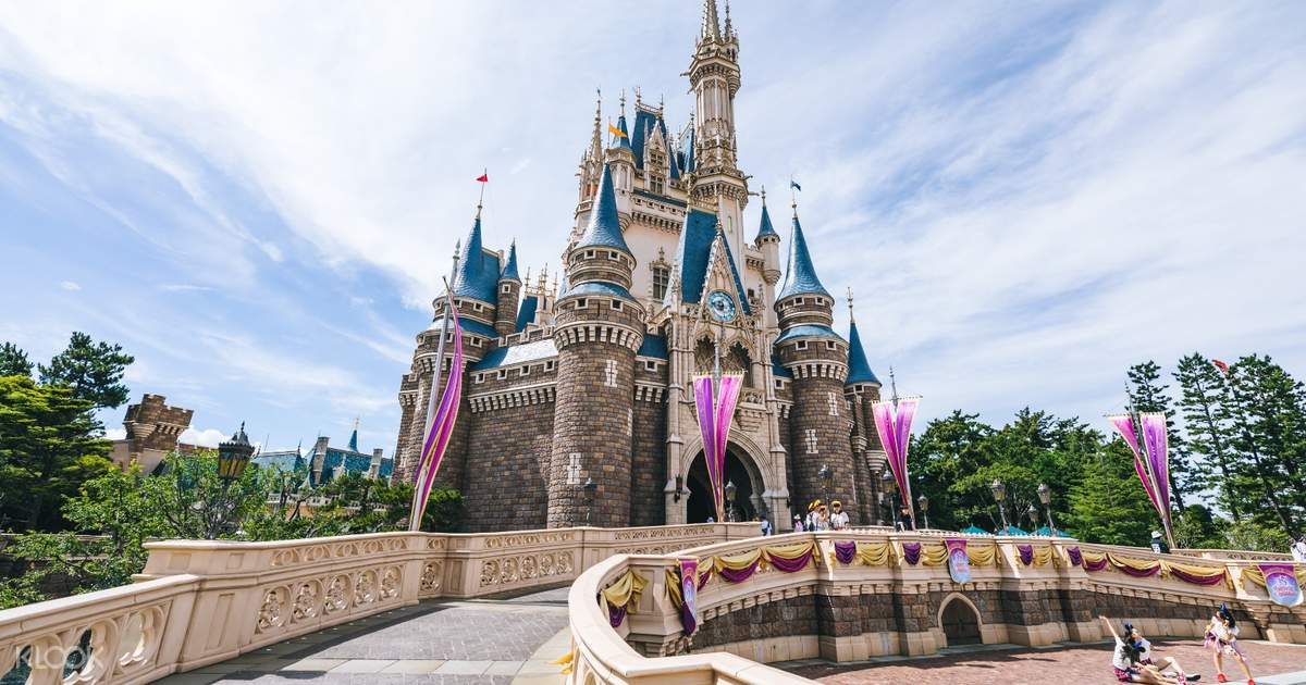 Tokyo Disneyland or DisneySea Ticket 1 Day Pass and 1 Day
