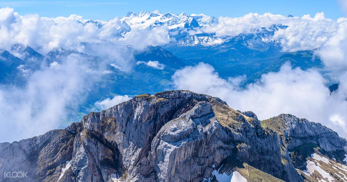 Half Day Trip to Mount Pilatus with Aerial Cable Car and