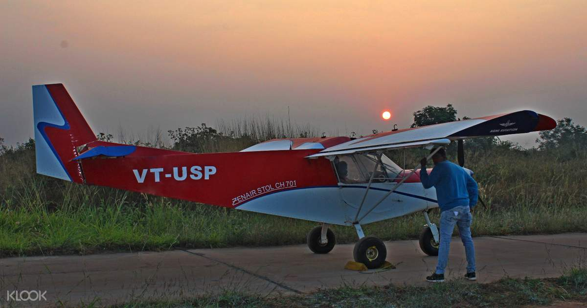 Microlight Flying in Bangalore, India - Klook