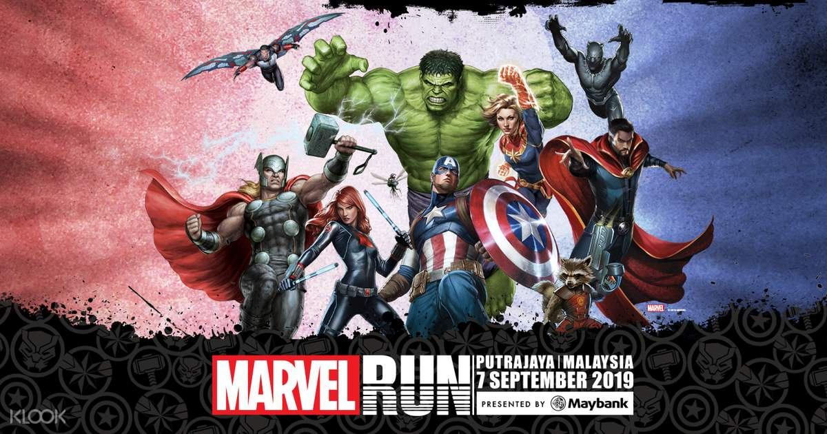 Marvel Run Malaysia 2019 - Klook