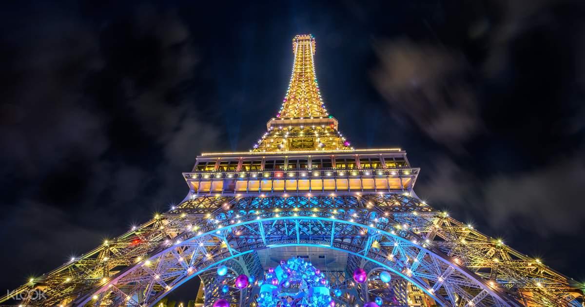 Macau Eiffel Tower at The Parisian Macao Observation Deck
