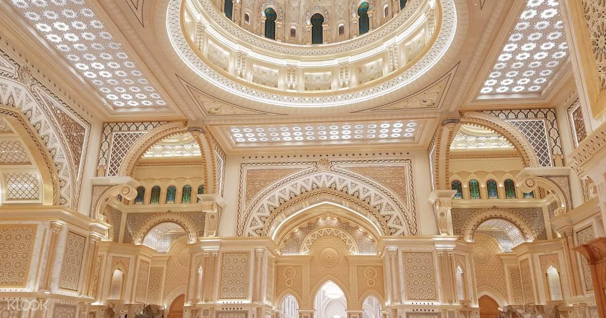 Sheikh Zayed Mosque Qasr Al Watan Etihad Towers Tour In Abu Dhabi