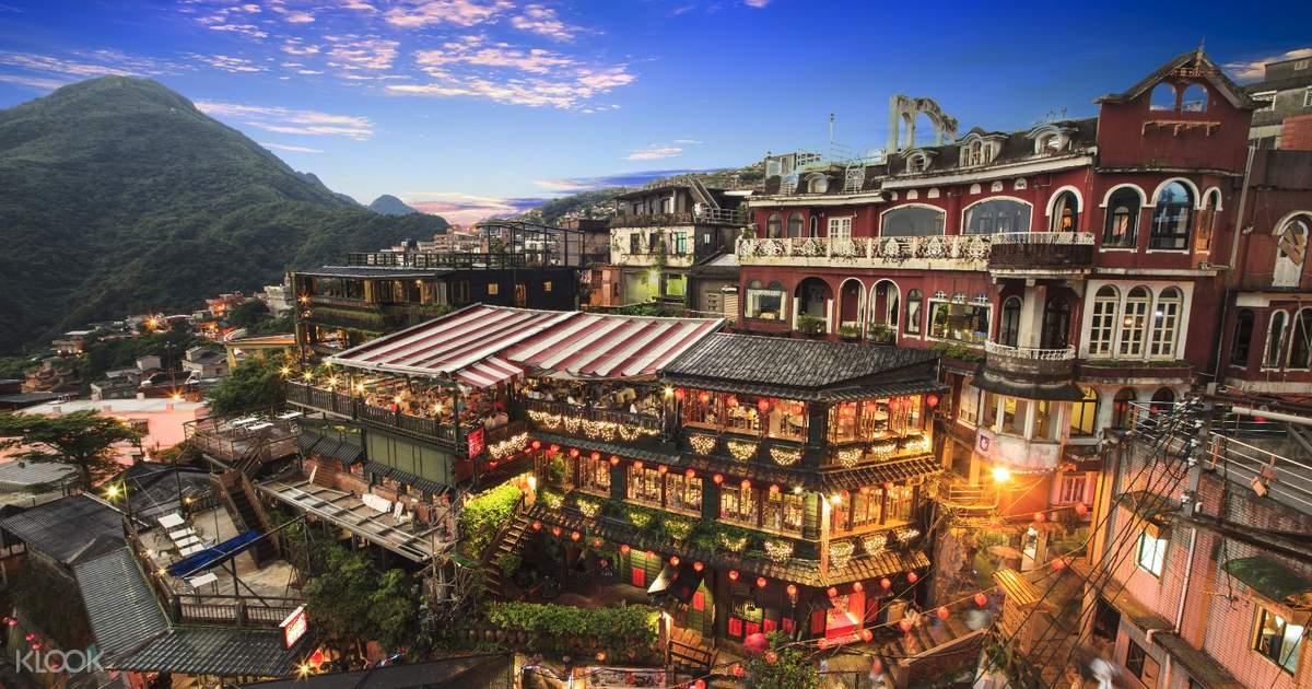 Jiufen, Shifen and Keelung Miaokow Night Market Shuttle