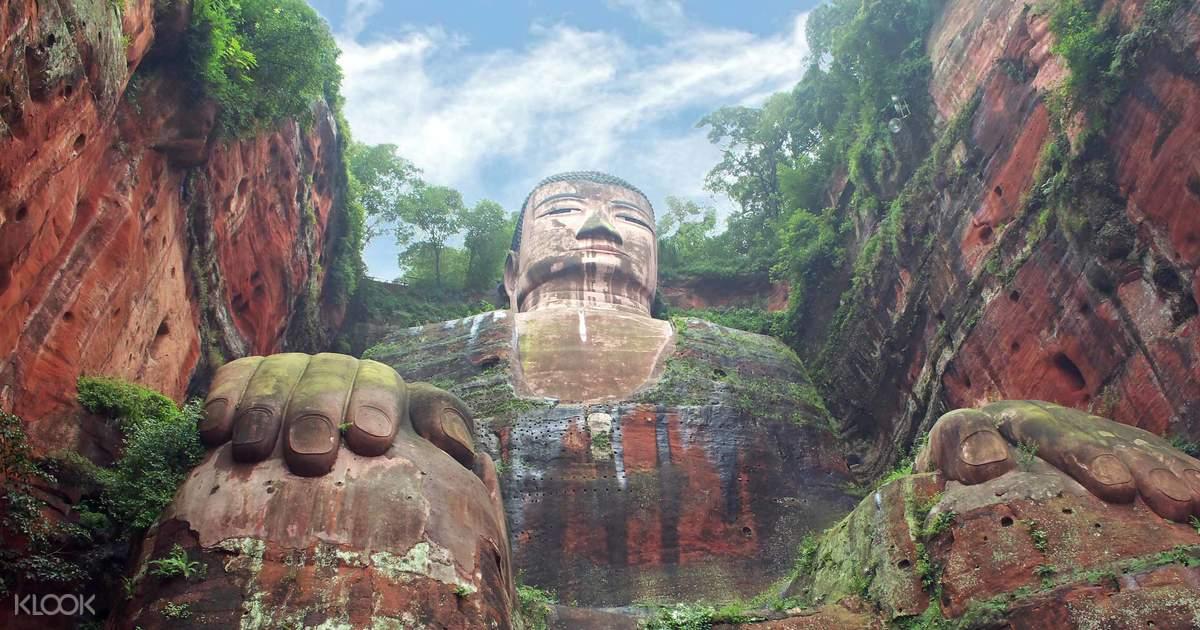 Leshan Giant Buddha Ticket Chengdu, China (Giant Buddha