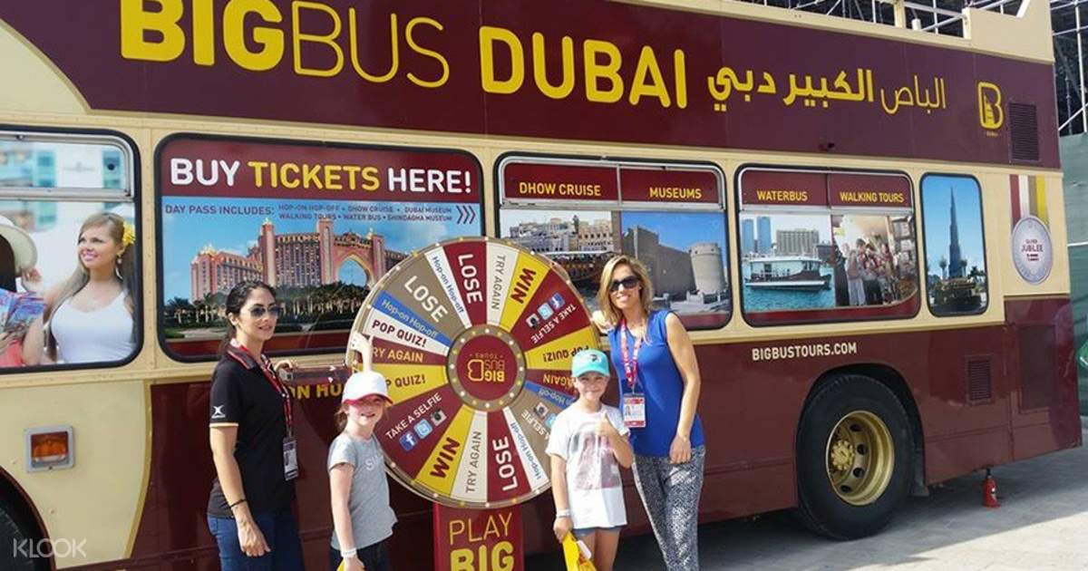 Dubai Big Bus Tour P - Klook on