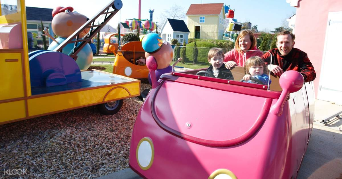 Peppa Pig World At Paultons Park Admission Ticket