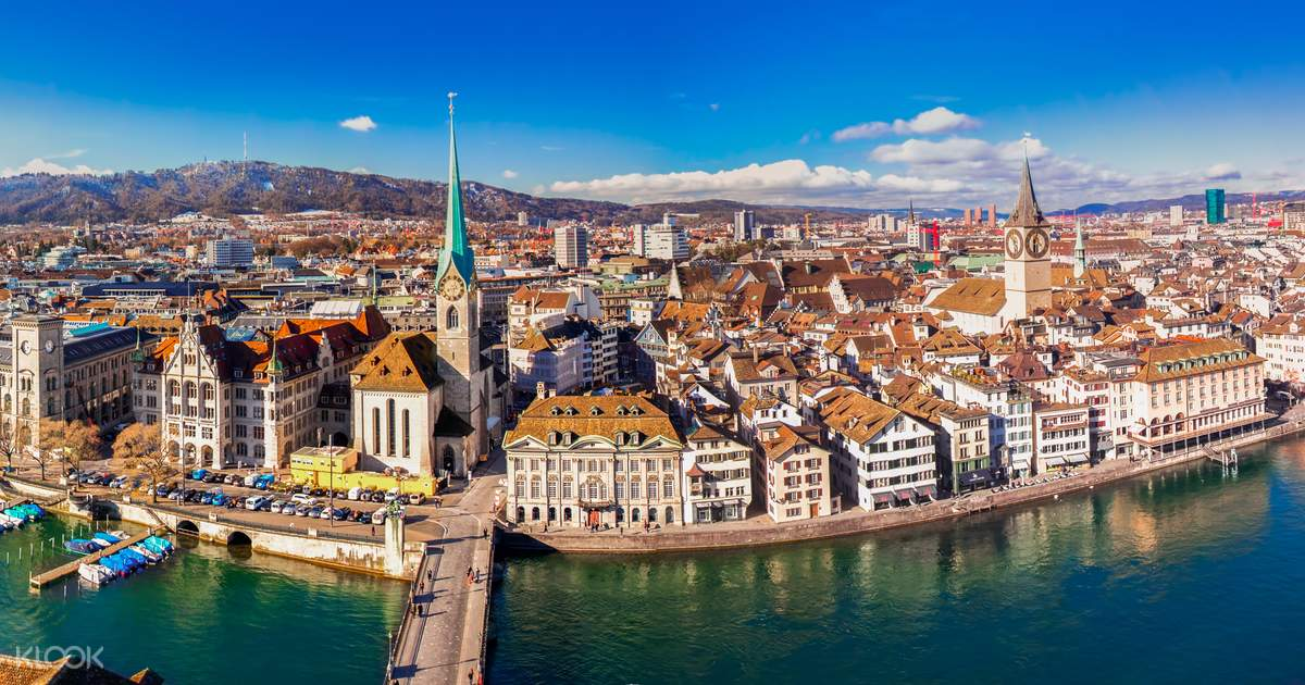 Zurich City and Surroundings Day Tour with Ferry and Cable
