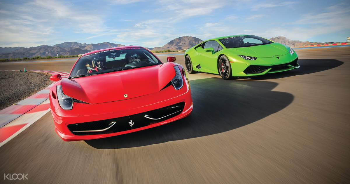 Las Vegas Luxury Car Racetrack Driving Experience Ferrari