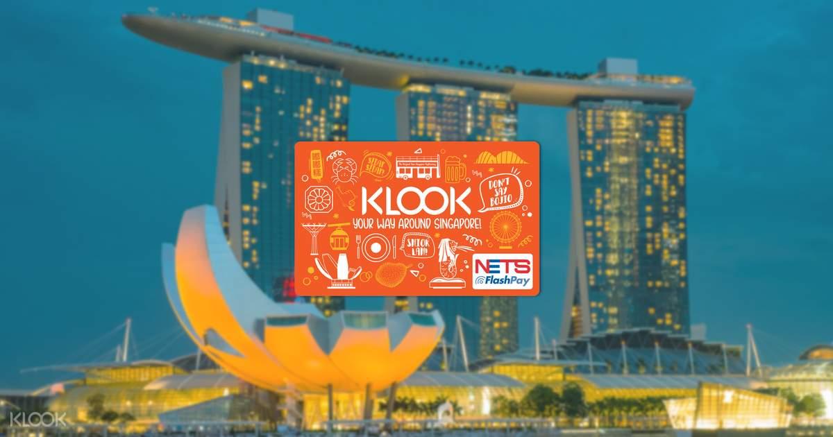 【一卡在手暢遊獅城】NETS FlashPay 新加坡交通卡 - KLOOK客路