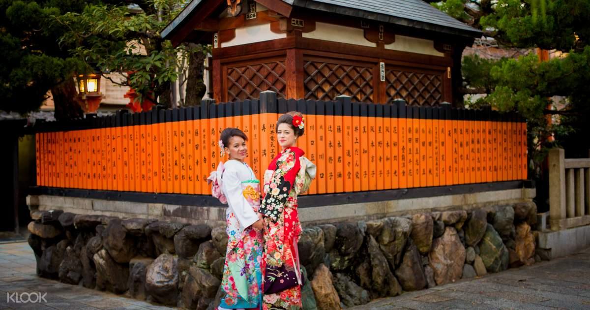 e Day Kyoto Kimono Rental Klook