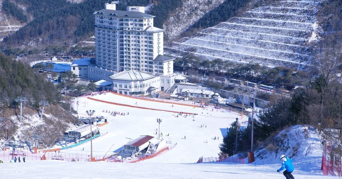 Elysian Gangchon Ski Resort Day Tour from Gangwon-do