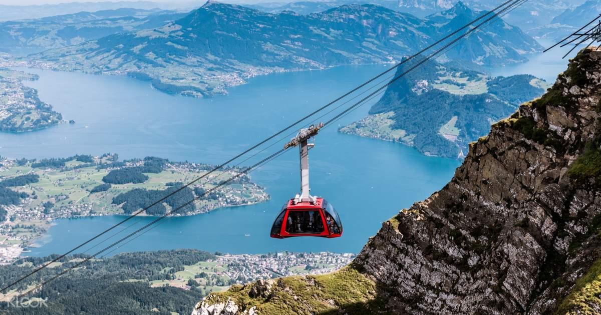 Escursione sul Monte Pilatus da Lucerna, Svizzera, con biglietto per il trenino a cremagliera più ripido al mondo