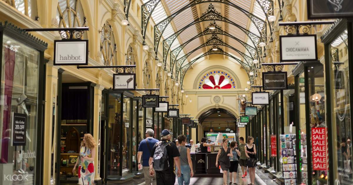 Melbourne Shopping Tour