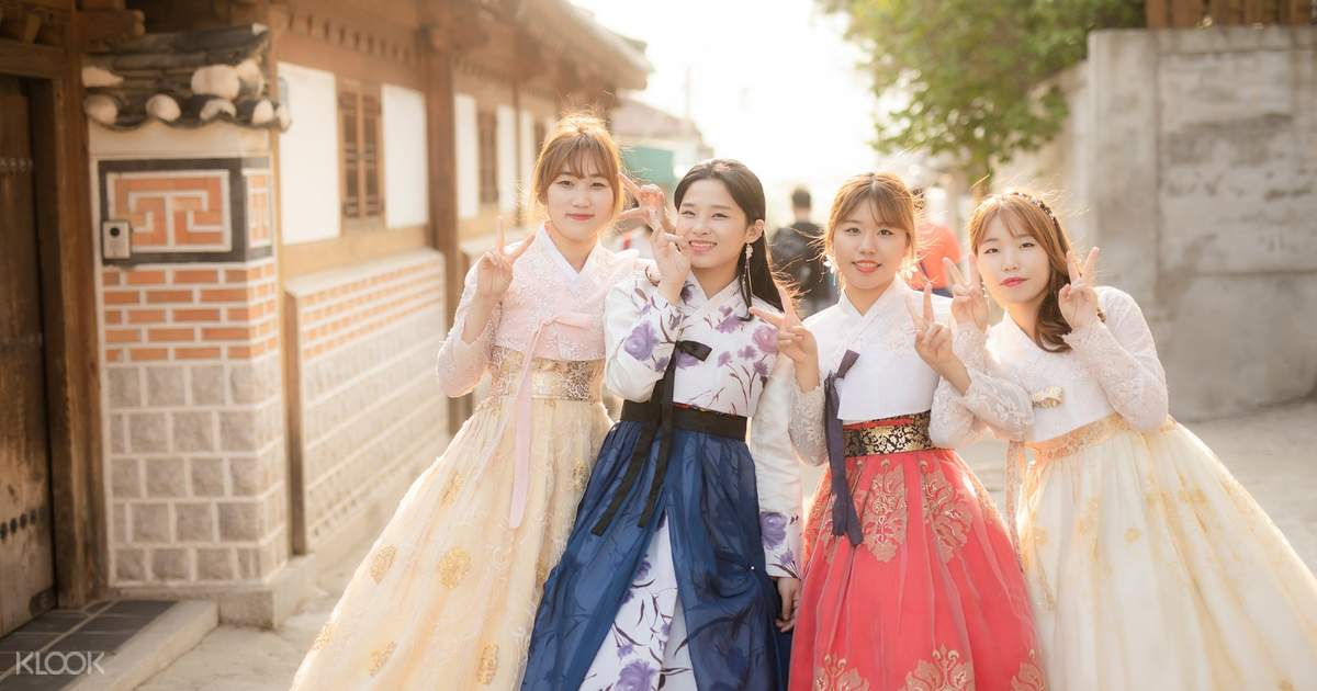Bukchon Oneday Hanbok Rental Experience In Seoul Klook
