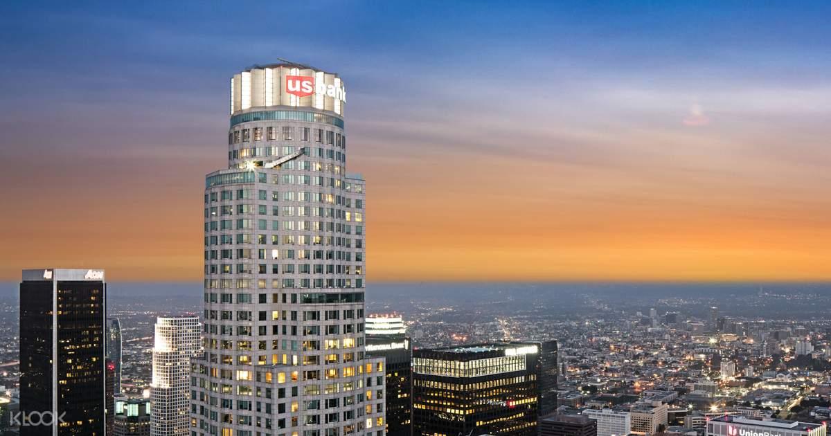 OUE Skyspace/Skyslide Los Angeles Admission Ticket - Klook
