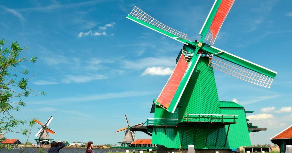 Wisata sehari ke Volendam, Edam & Zaanse Schans desa