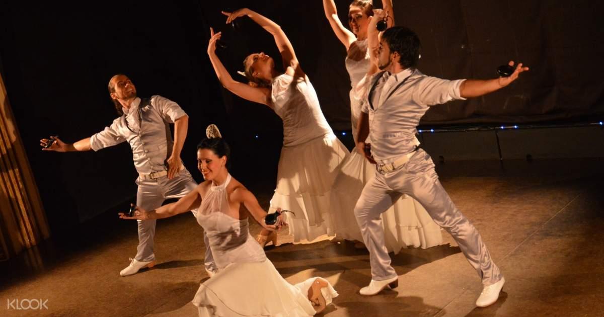 Entrada Para Espectáculo De Flamenco Con Clases De Baile Flamenco Gratis En El Palacio Del Flamenco