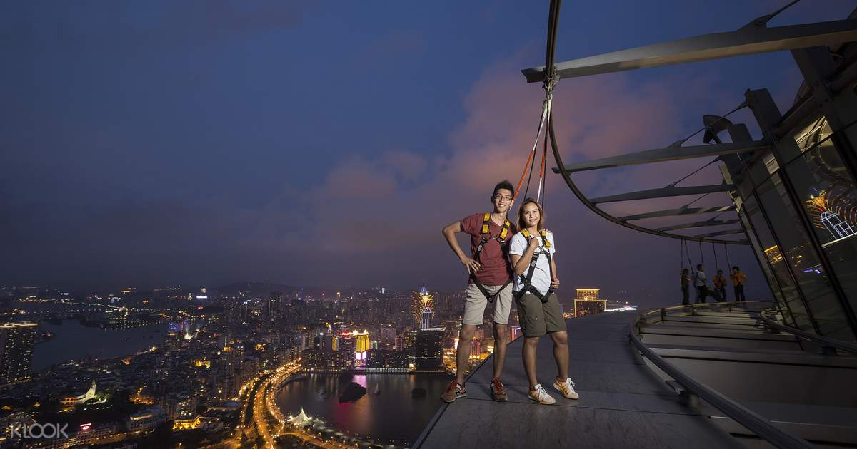 Macau Tower Skywalk - Klook