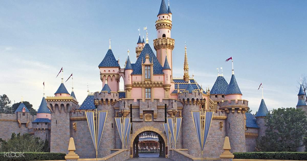 Disneyland and Disney California Adventure Park Ticket in