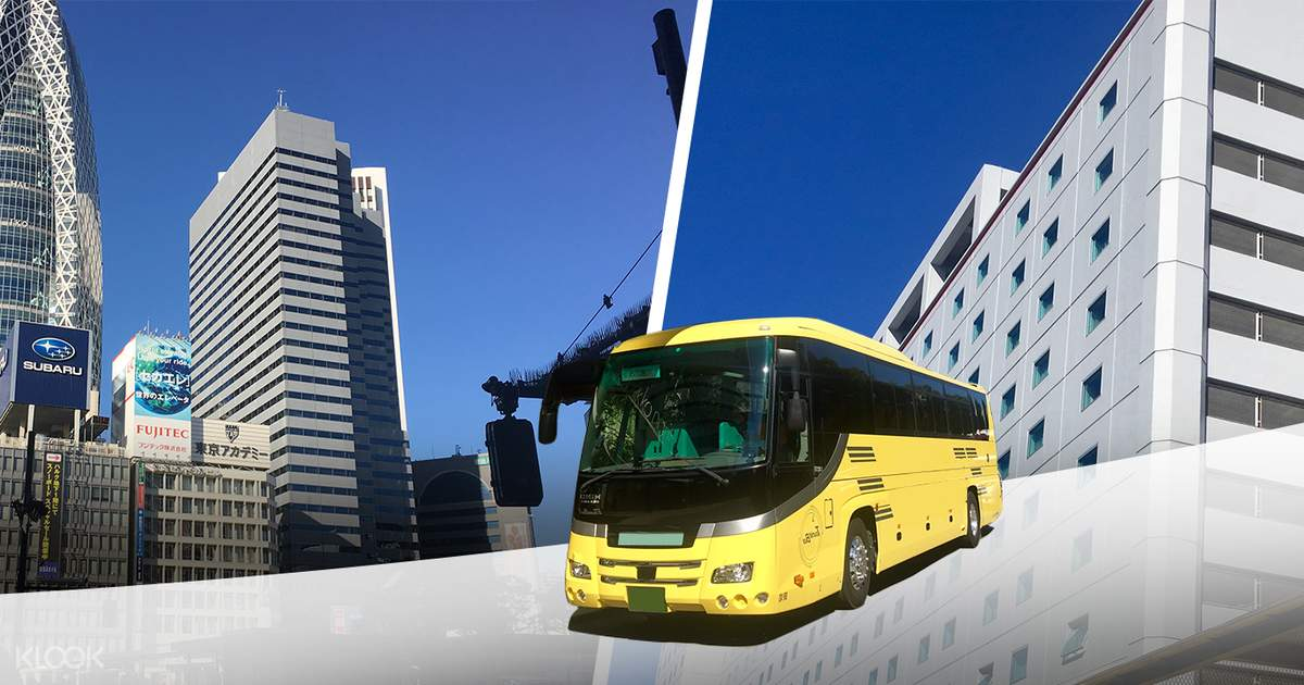 Shared Bus Transfers from Shinjuku to Tokyo Disneyland or