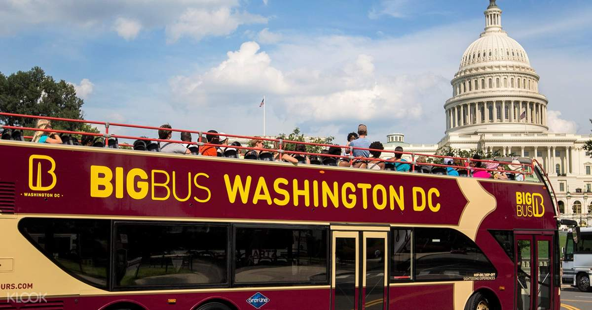 Washington Dc Tour Bus >> Washington Dc Big Bus Hop On Hop Off Tours Open Top