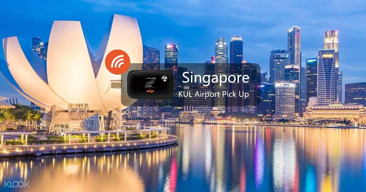 4G WiFi Device - Kuala Lumpur Airport Pick Up for