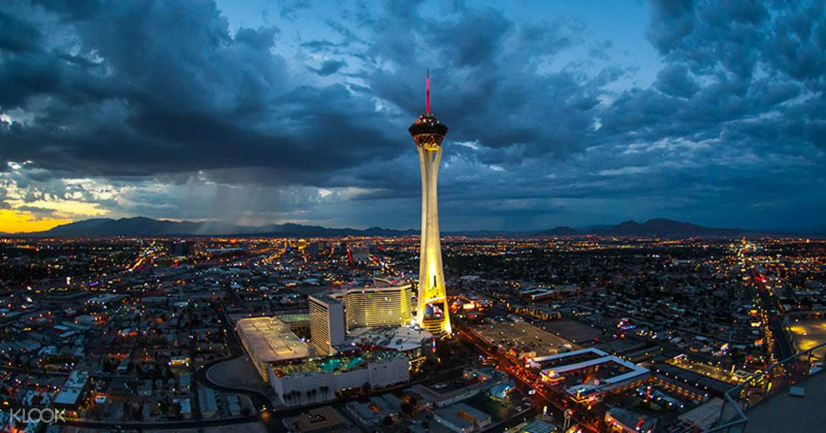 Stratosphere Observation Deck Ticket + VIP Access Las