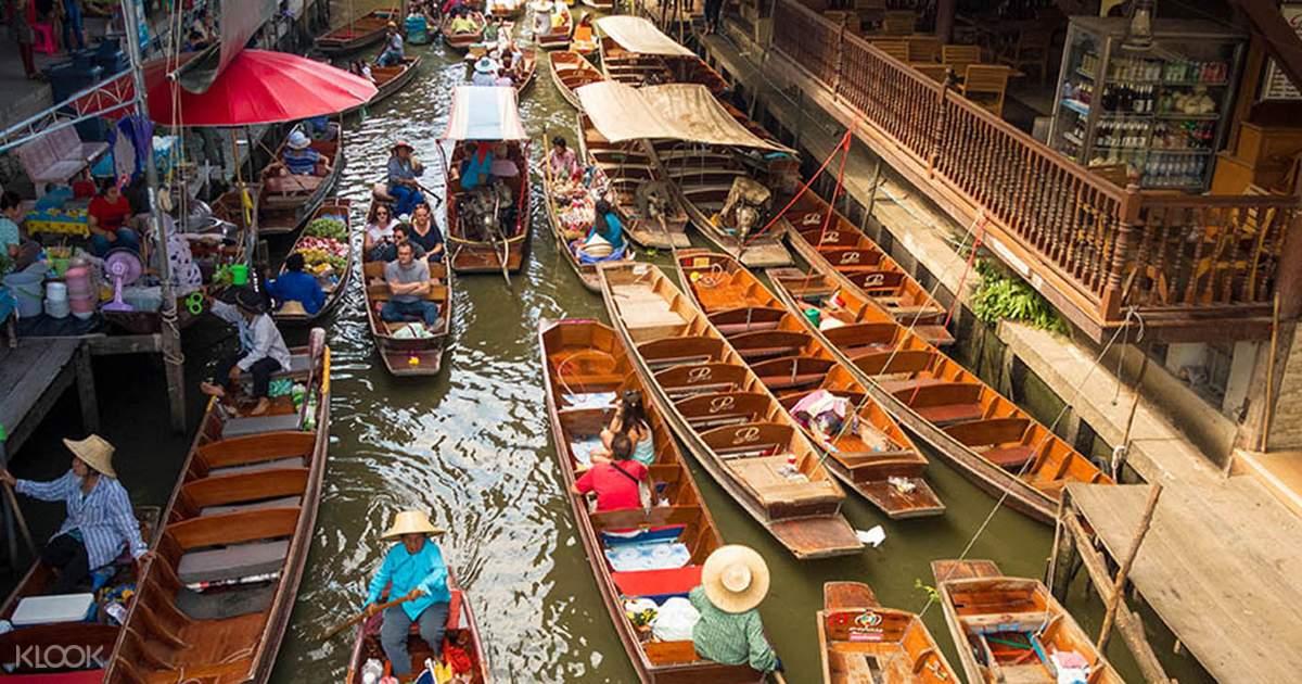 Damnoen Saduak Floating Market Tour By Tour East Thailand
