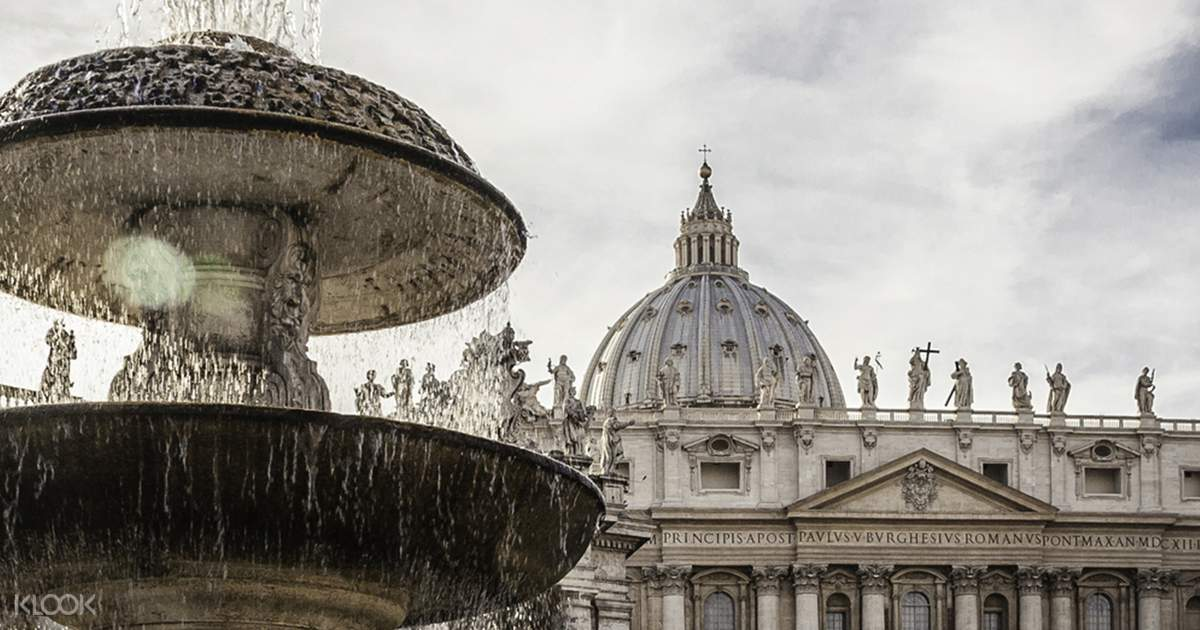 vatican museums sistine chapel and st peter s basilica tour klook