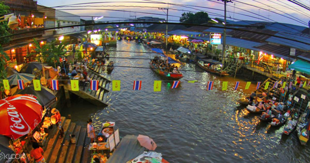 Thailand Floating Markets Day Trip - Klook