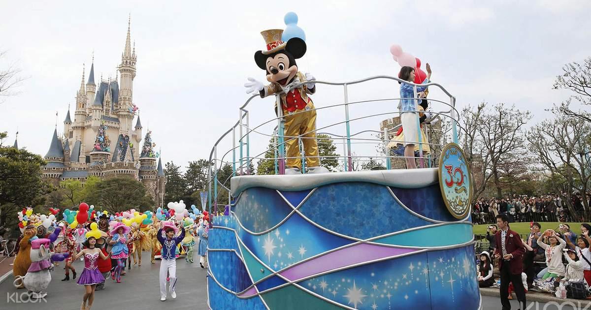 Tokyo Disney Ticket 2-Day Pass (Disneyland, Disneysea) - Klook
