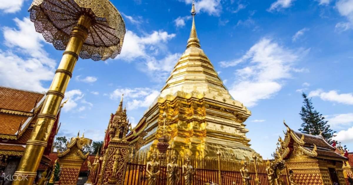 Doi Suthep, Bhubing Palace, Wat Umong and Chiang Mai Night