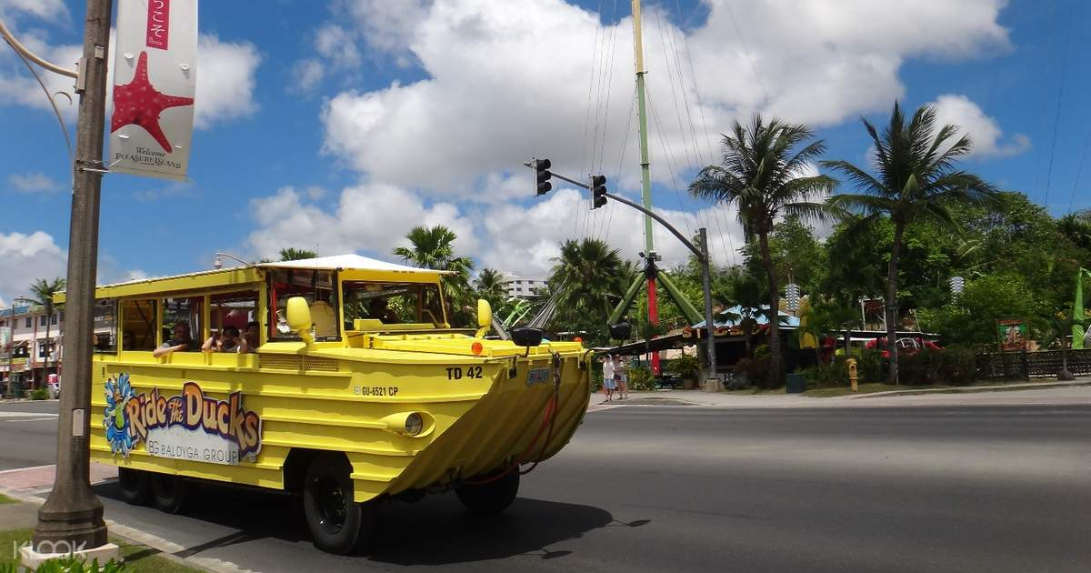 Ride the Ducks Sightseeing Tour in Guam - Klook
