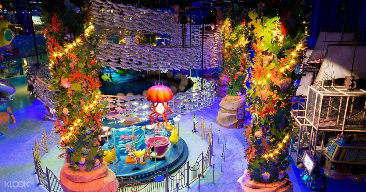 Lotte World Kids Park Undersea Kingdom Theme Park Ticket