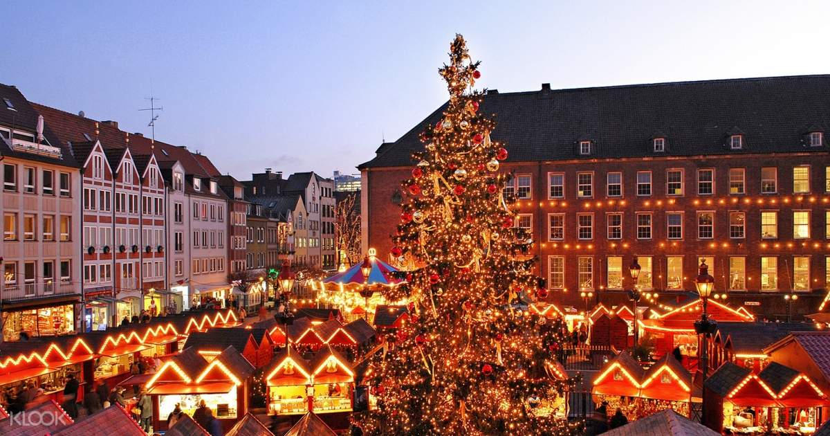 Dusseldorf Christmas Market Day Tour from Amsterdam - Klook India